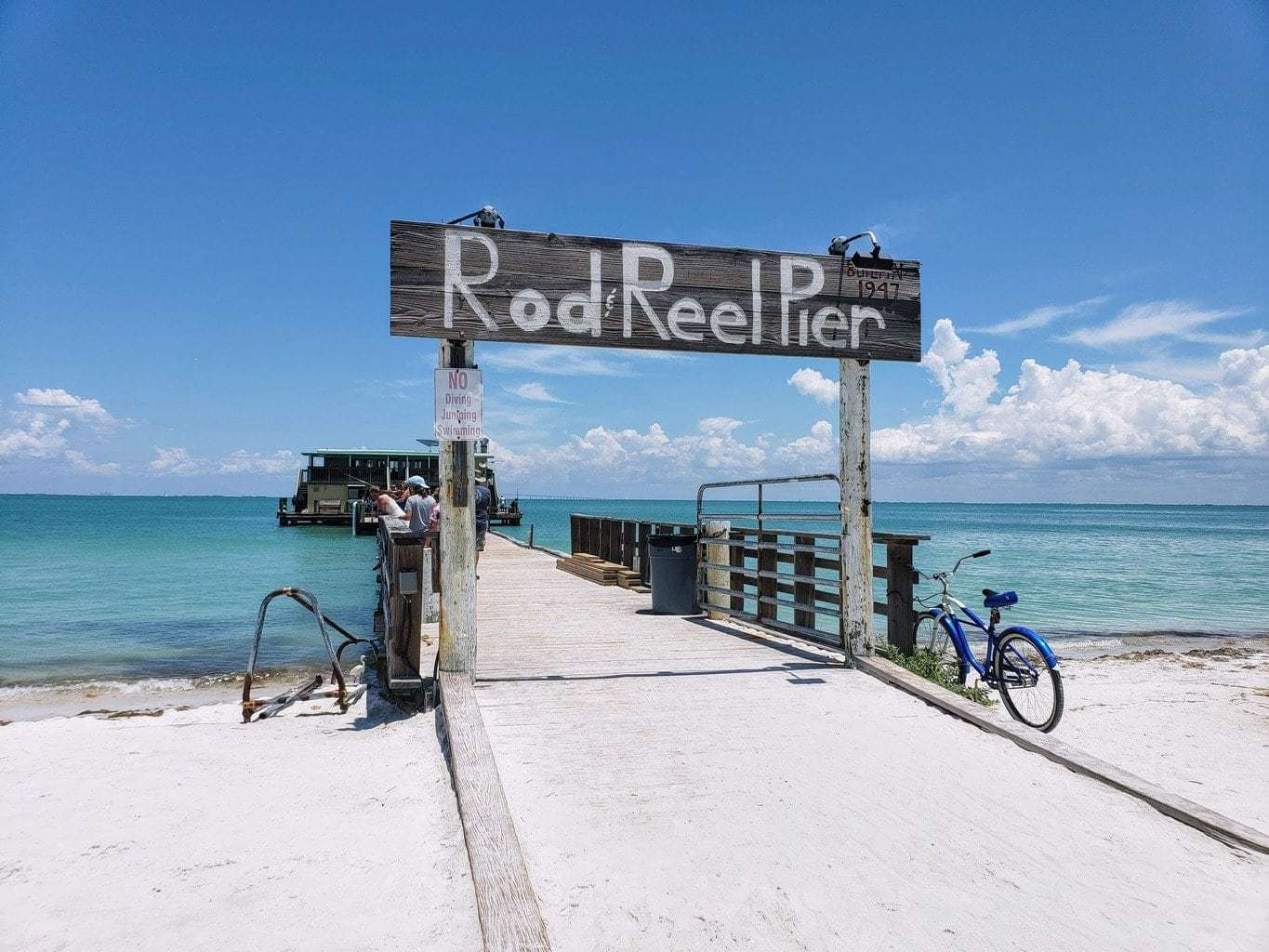 Rod and Reel Pier, dining in Anna Maria Island
