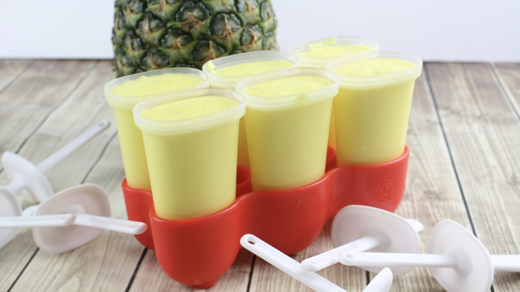 Dole Pineapple Whip Popsicles