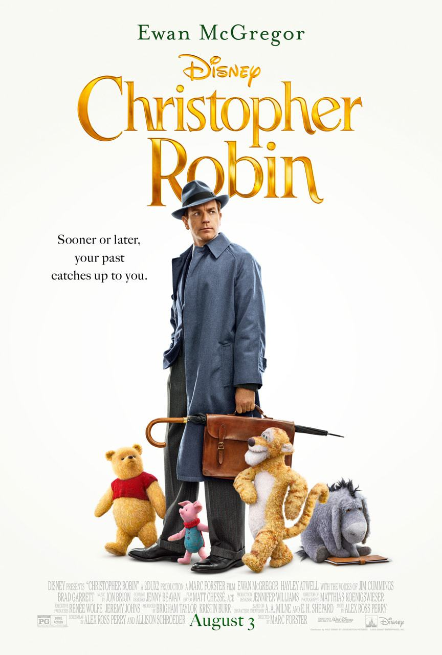 Christopher Robin Poster ee the film in theatres August 3.