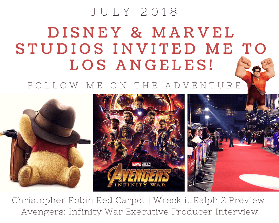 Walking the Red Carpet July 29-31 for Christopher Robin Event
