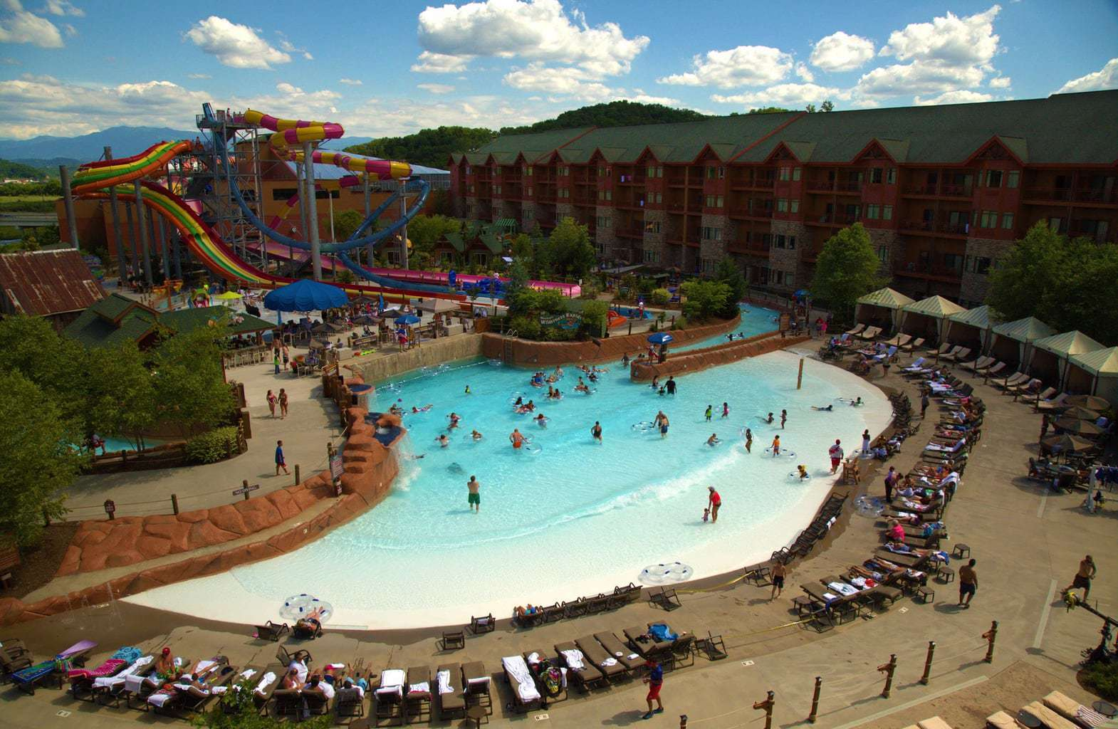 Lake Wilderness Outdoor Waterpark