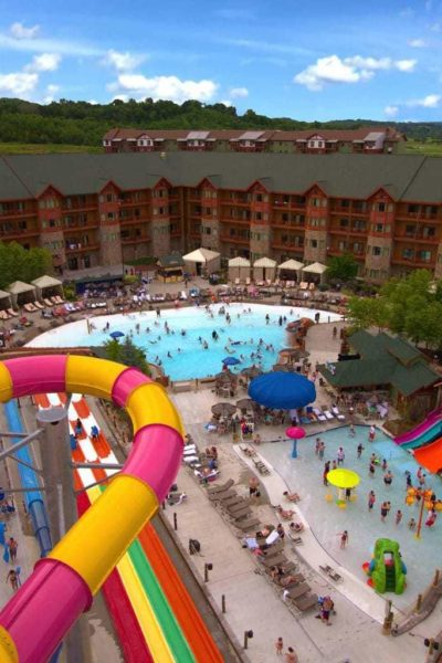 Wilderness at the Smokies Outdoor Water Park