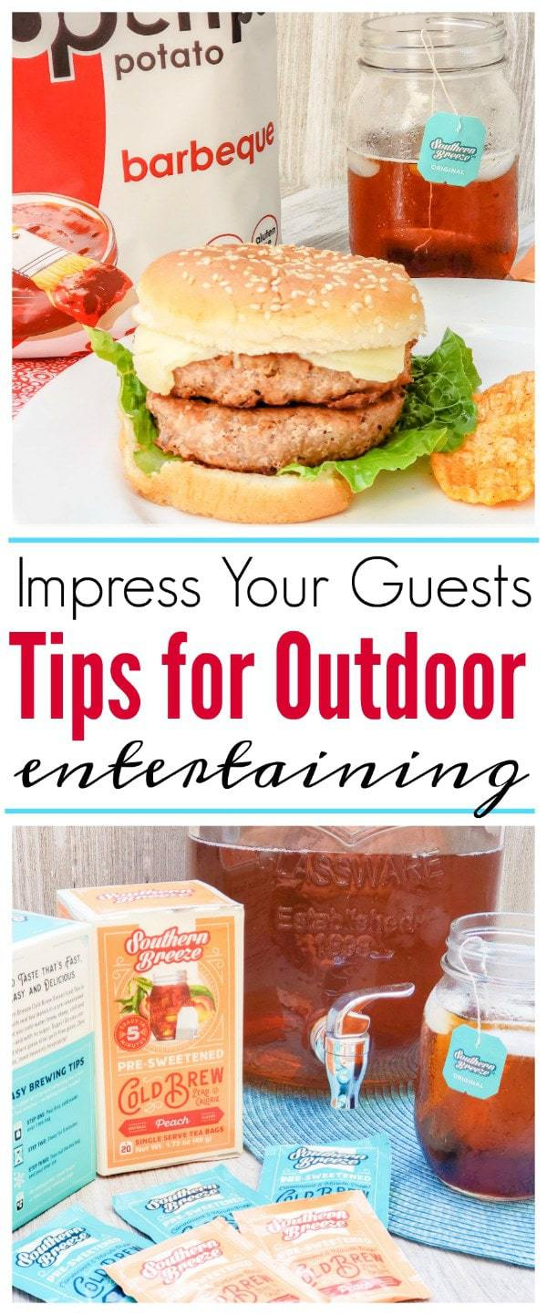 #AD While outdoor entertaining may feel overwhelming, have no fear...we have your top tips for outdoorentertaining that will impress your guests. #SummerEatsBBoxx #BabbleBoxx #OutdoorEntertaining