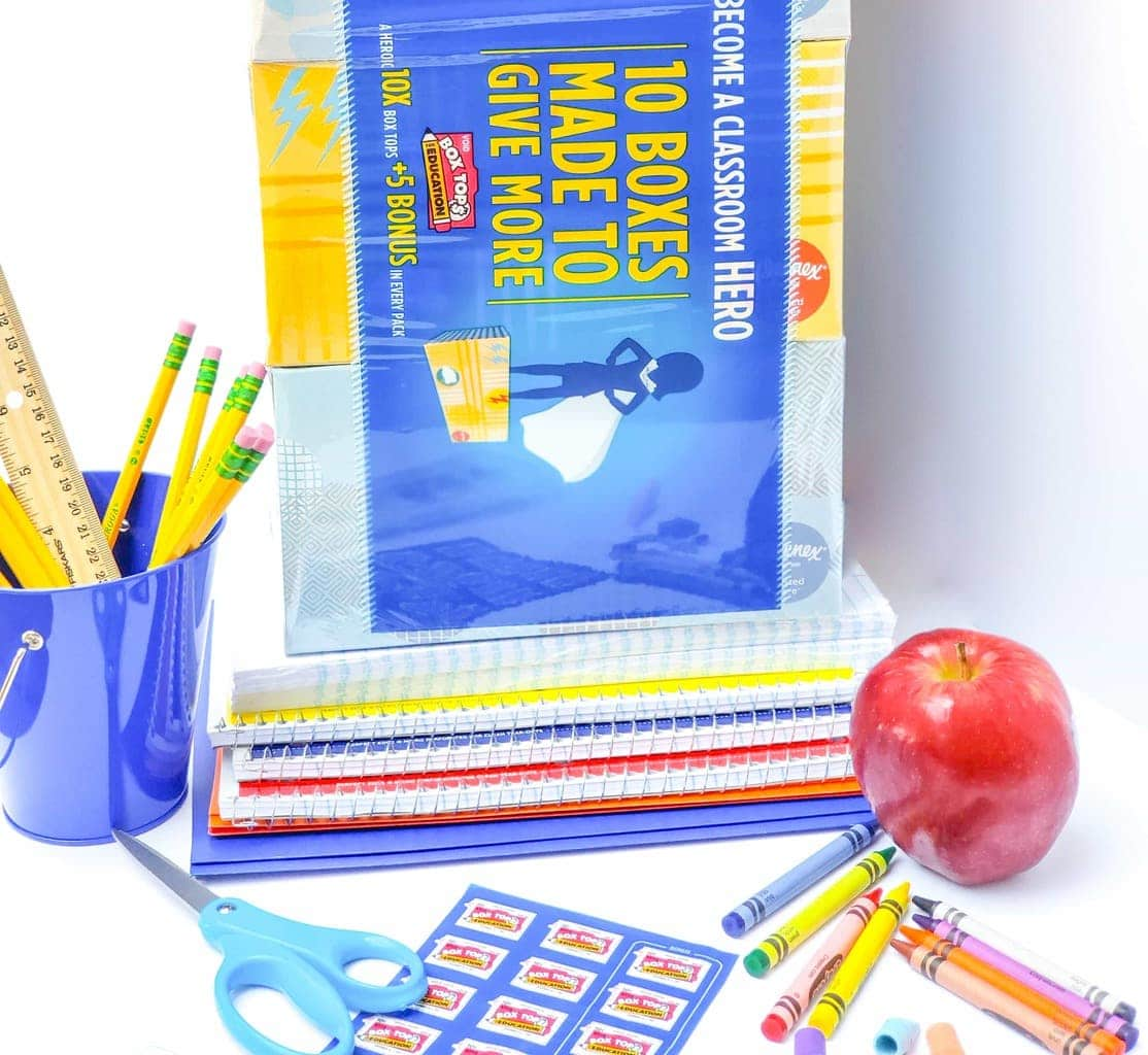 School Supplies, Help Teachers Stock Their Classrooms, Box Tops Helps Provide Classrooms with Much Needed School Supplies