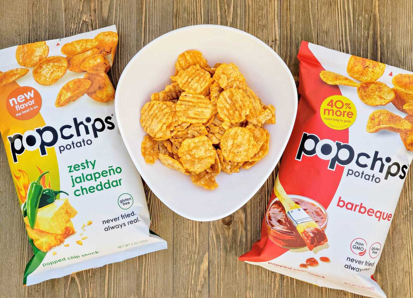 popchips snack, snacks for outdoor BBQ