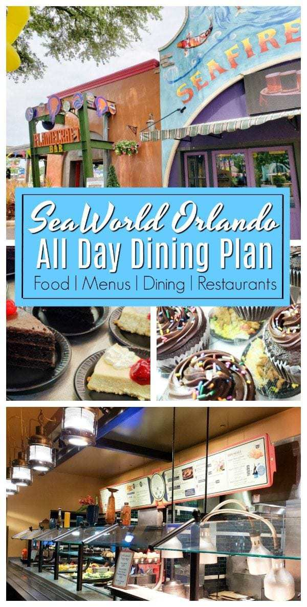SeaWorld Dining Deal is your best option if you are looking for an easy solution to feed and quench the thirst of your entire family. #SeaWorld #SeaWorldOrlando #SeaWorldAllDayDining