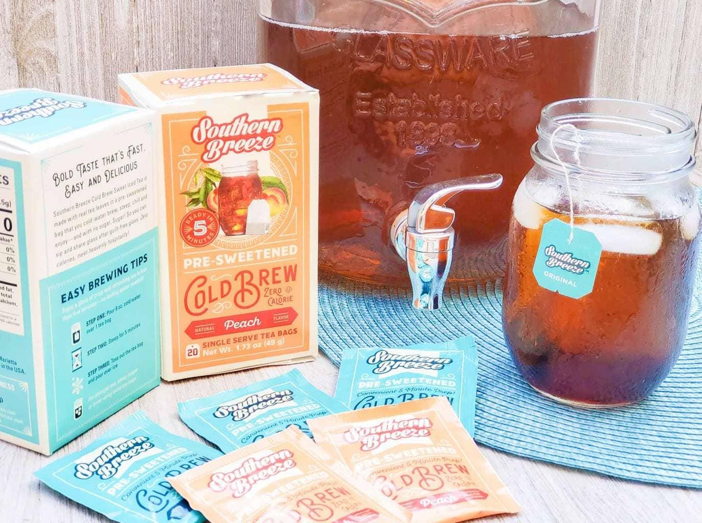 southern breeze sweet tea, babbleboxx