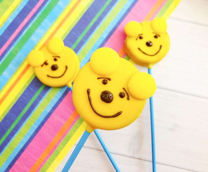 Winnie the Pooh Oreo Pops, Oreo Winnie the pooh