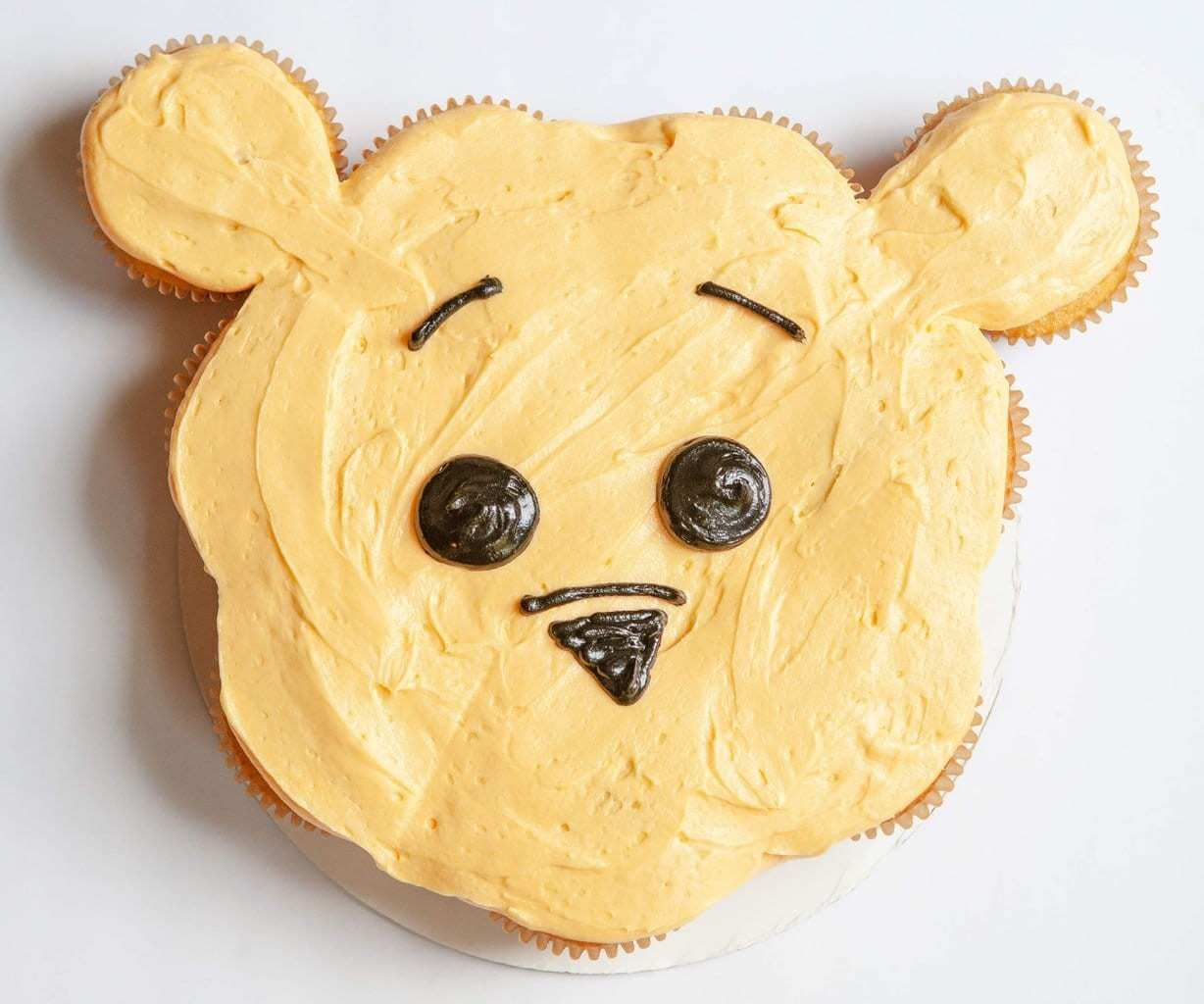 Winnie The Pooh Pull Apart Cupcakes Christopher Robin Inspired Recipe