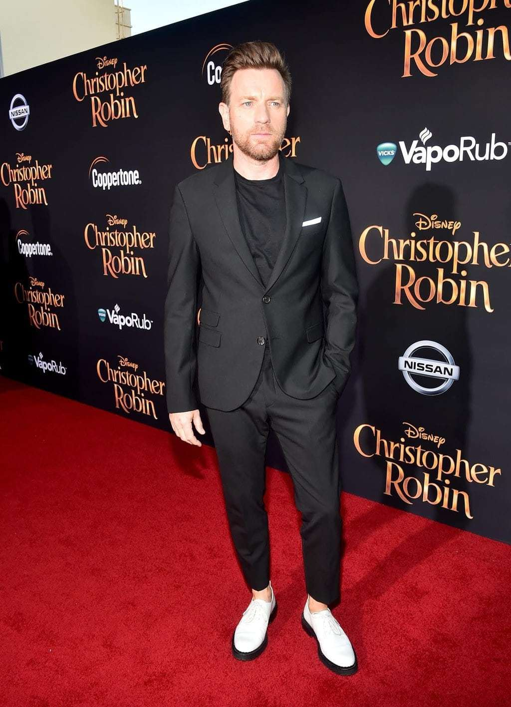 Ewan McGregor at Disney's Red Carpet for Christopher Robin