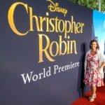 Disney Blogger, Top Disney Blogger, Disney Red Carpet Events, Christoper Robin Red Carpet