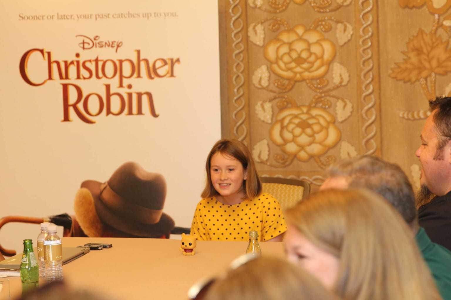 Through the Eyes of a Child: Interview with Bronte Carmichael in Christopher Robin