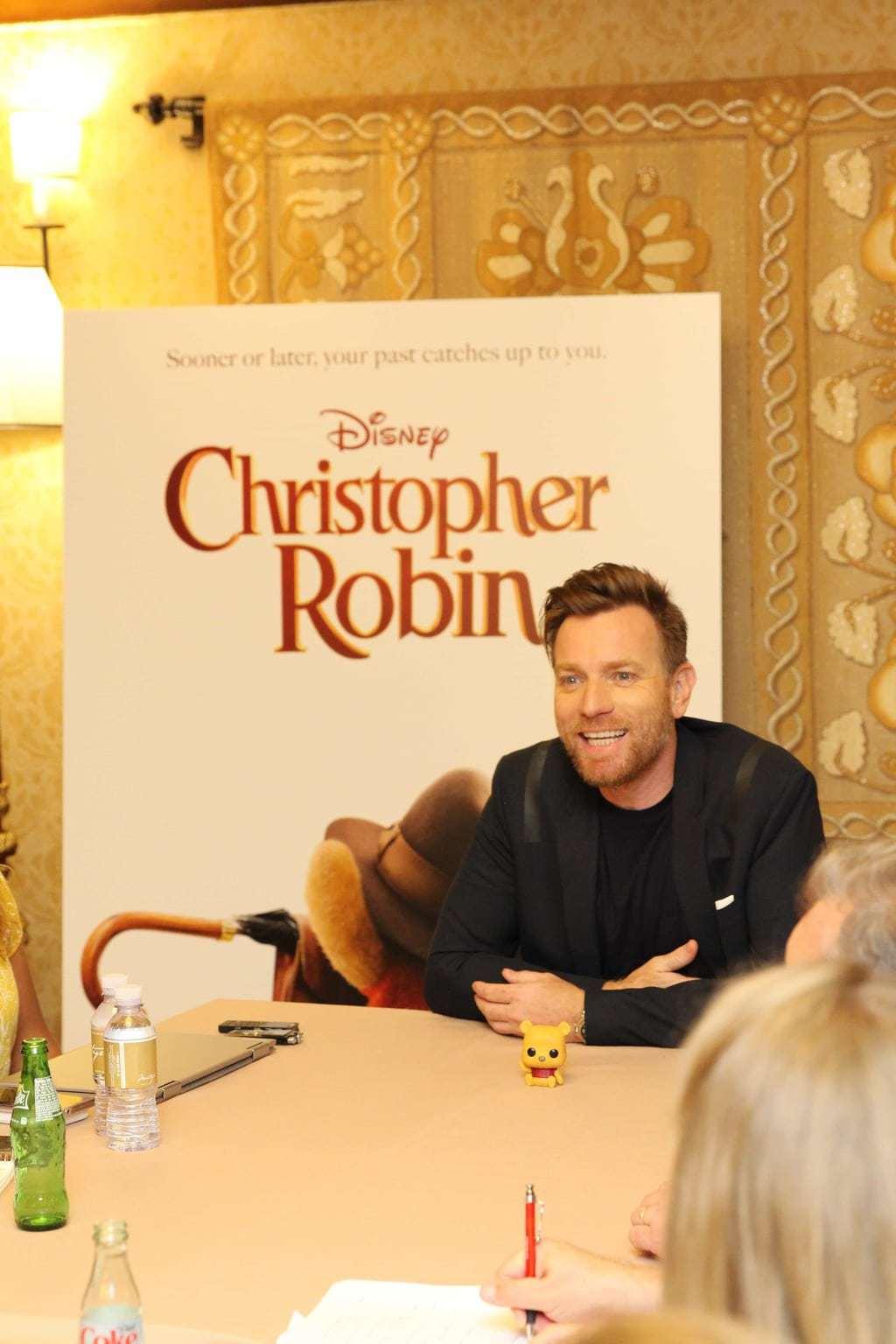 Interview With Ewan McGregor, Ewan McGregor Interview, Disney's Christopher Robin movie, Ewan McGregor as Christopher Robin