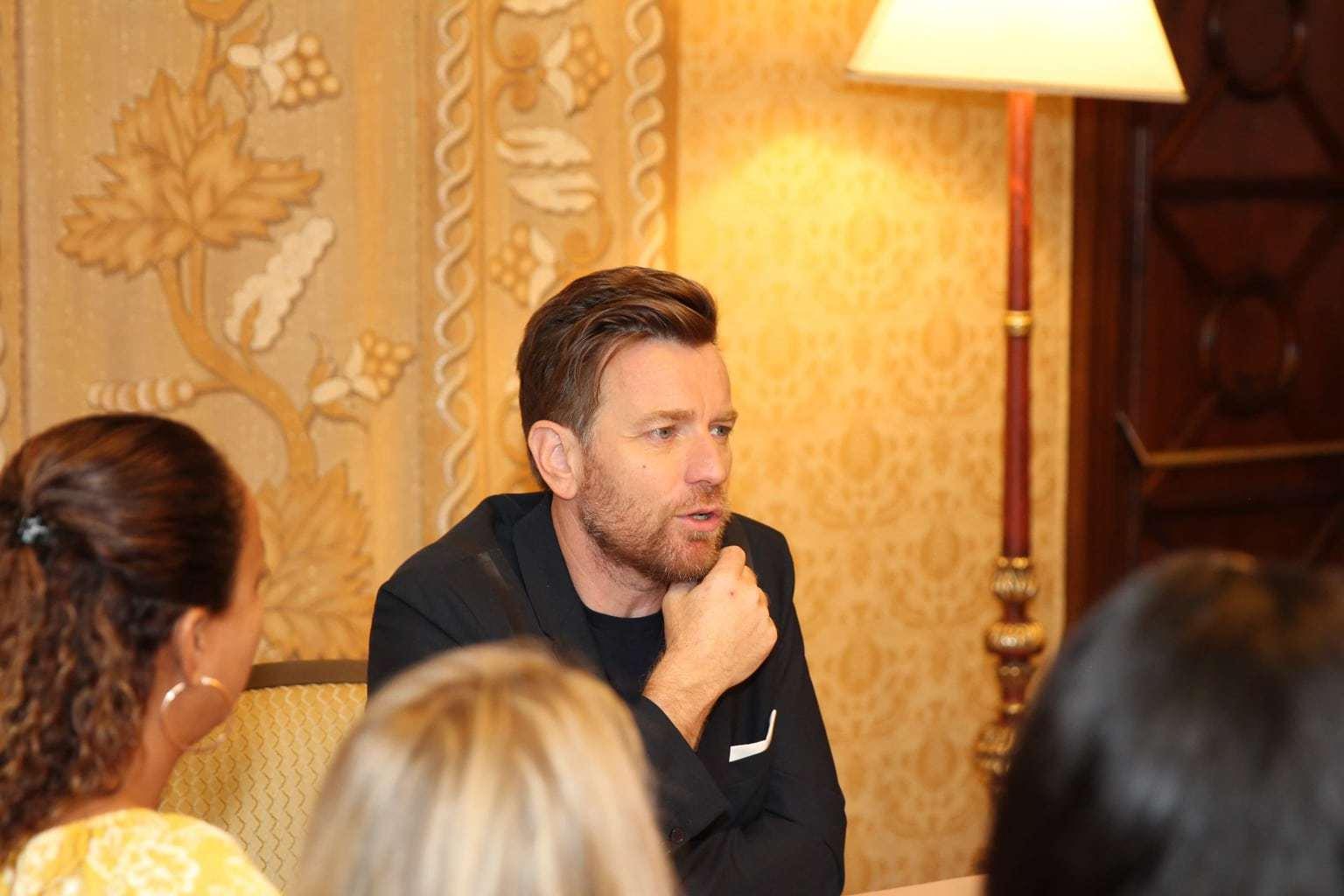 Ewan McGregor Interview, Disney's Christopher Robin movie, Ewan McGregor as Christopher Robin
