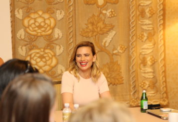 Emotionally Connecting Interview With Hayley Atwell as Evelyn in Christopher Robin