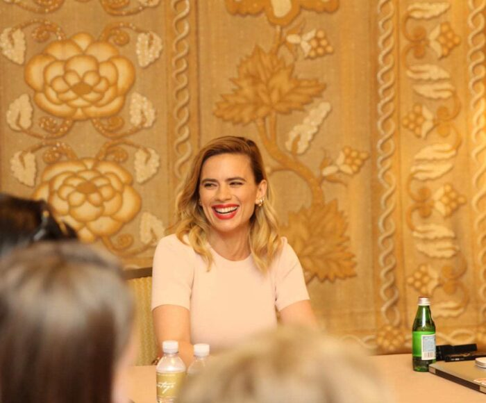 hayley atwell interview in christopher robin