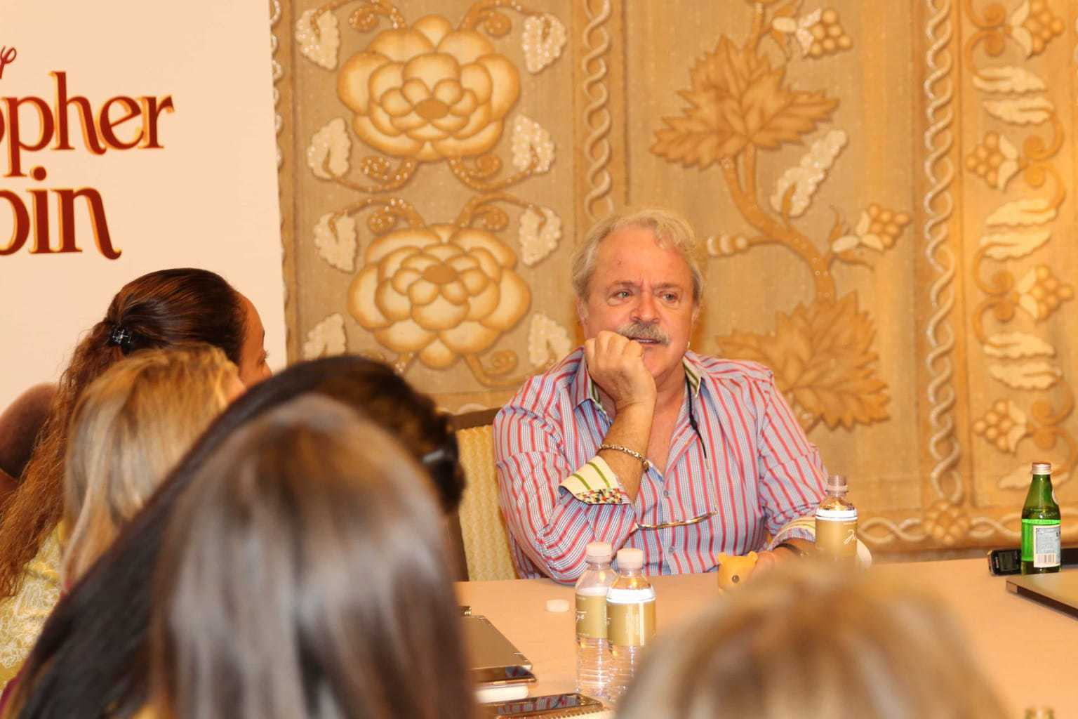 Group interview with Jim Cummings, voice of Winnie the Pooh and Tigger