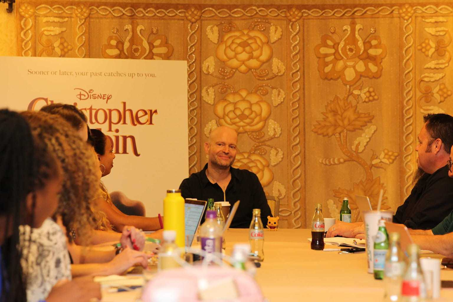director marc forster, interview with marc forster, disney bloggers