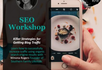 Bloggers' Byte Food and Lifestyle Conference – Learn SEO, Video, and more!