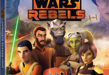Star Wars Rebels: The Complete Fourth Season Disney DVD and Giveaway
