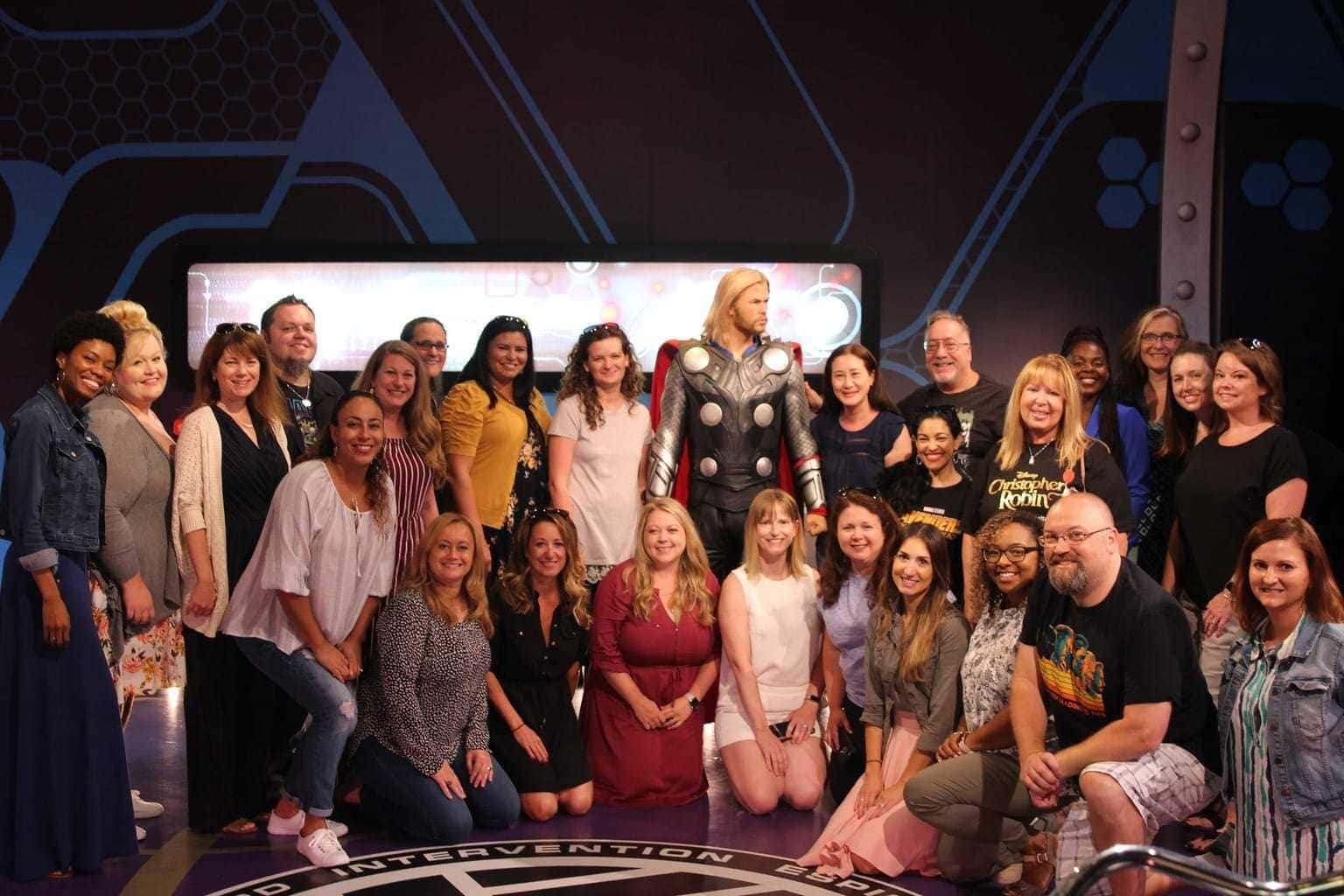 Madame Tussauds Hollywood Visit Plus Interview with Producer Trinh Tran of Avengers: Infinity War