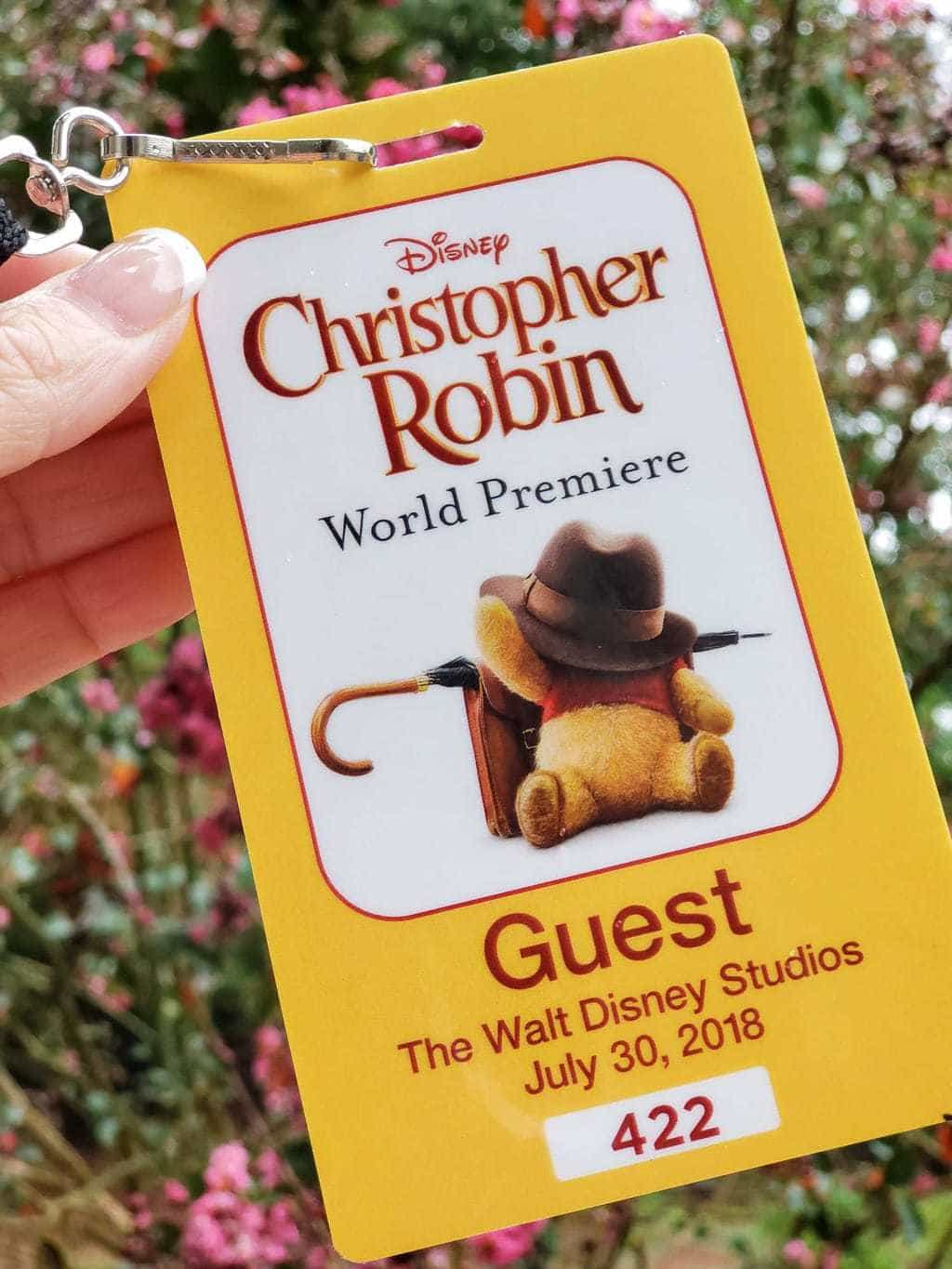 Disney's Christopher Robin Red Carpet Event