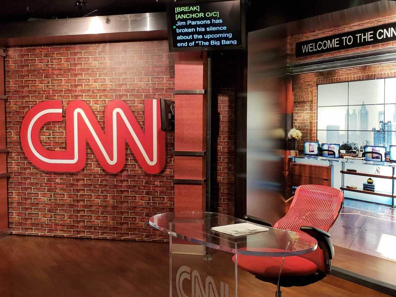 Cnn tour in Atlanta