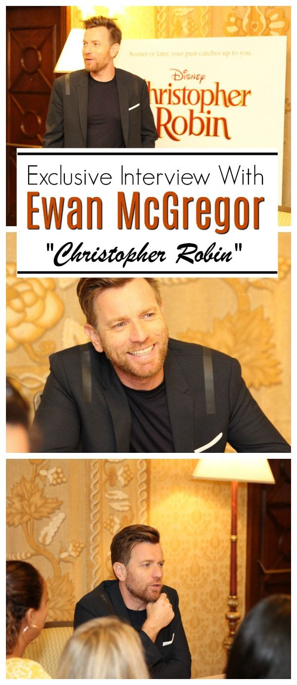 When Director Marc Forster cast Ewan for this role, he picked the perfect person to play Christopher Robin. Read our exclusive interview with Ewan McGregor. #ChristopherRobinEvent #ChristopherRobin #EwanMcGregor