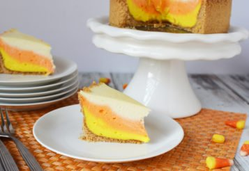 Candy Corn Cheesecake in the Instant Pot – A Festive Fall Dessert