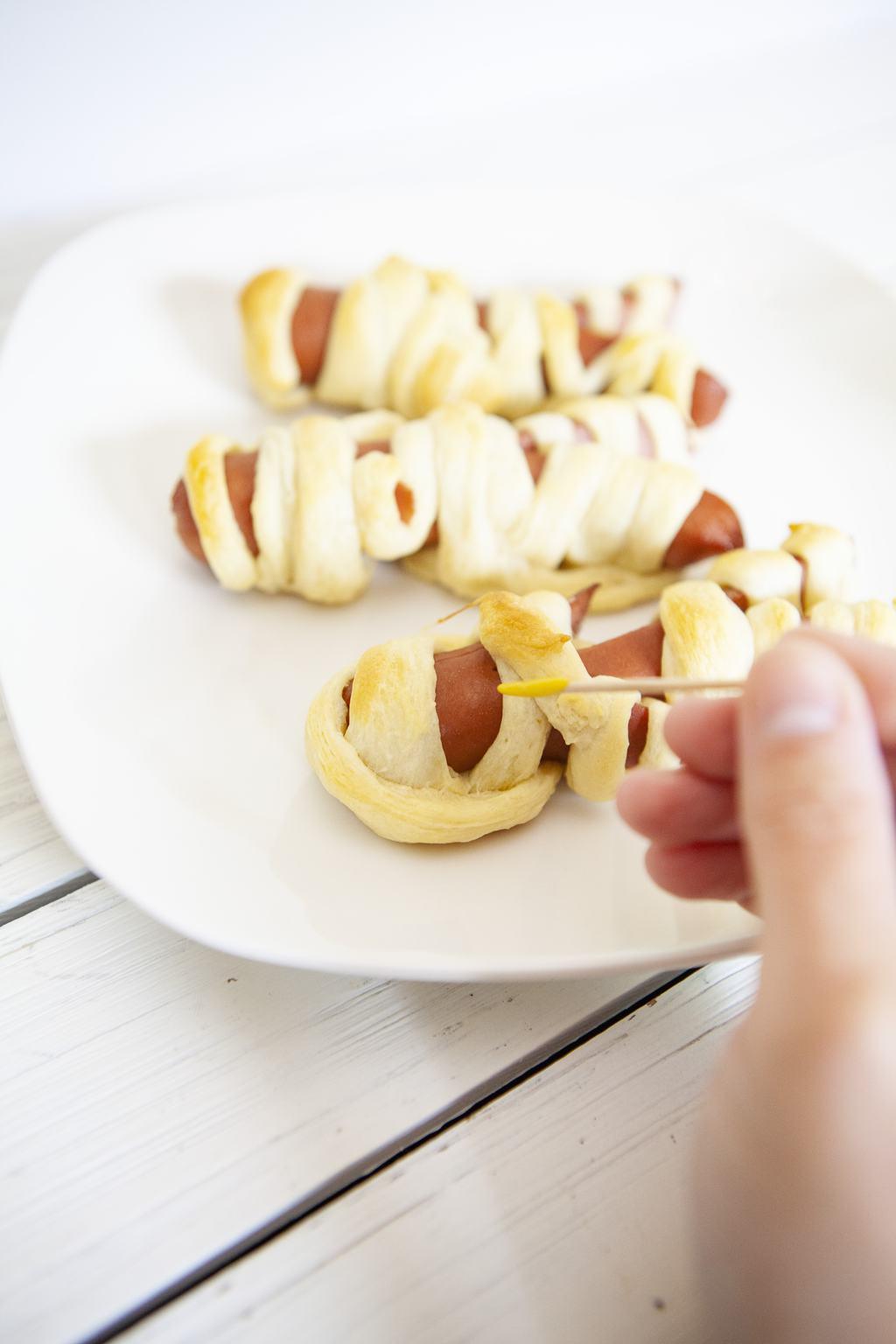 Mummy Hotdogs