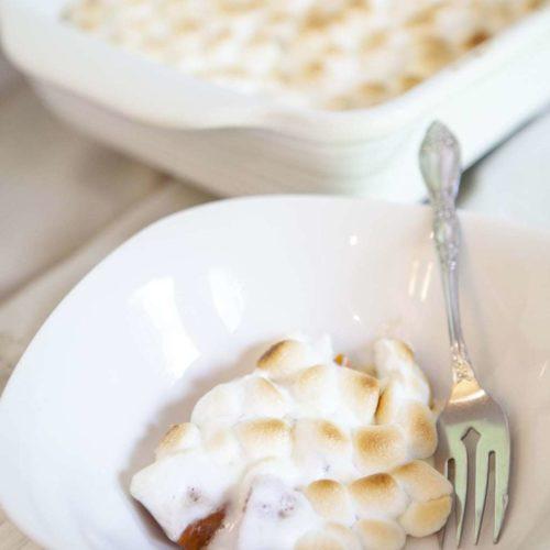 Yam Marshmallow Bake