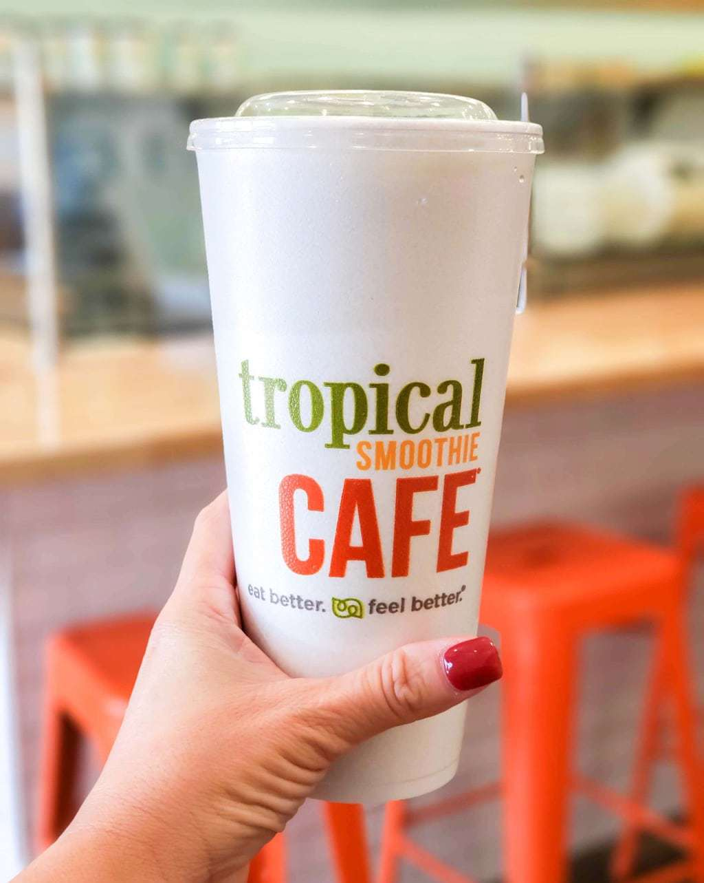 Tropical Smoothie Cafe, Detox Green Smoothie
