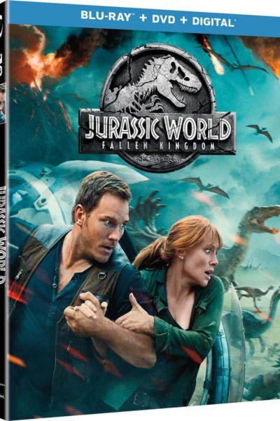 Jurassic World Fallen Kingdom DVD Combo Pack