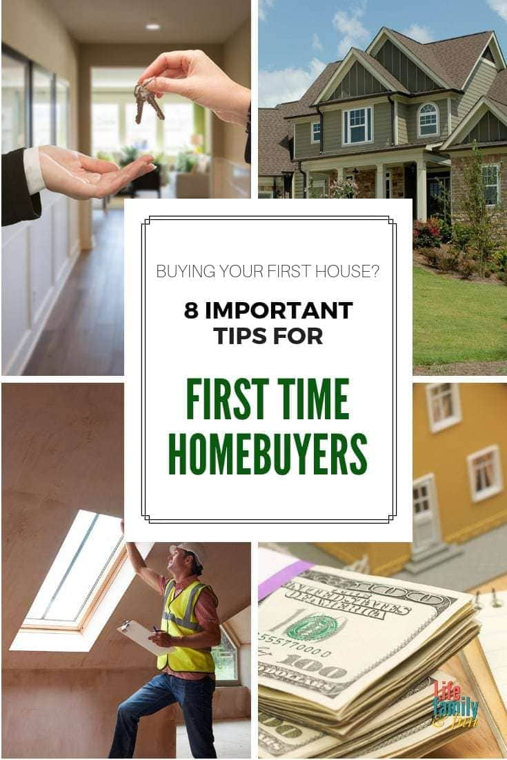 If you're planning on bidding on a house in the very near future, educate yourself with these simple first time home buyer tips! These home buying tips will help make your first home purchase a success! #FirstTimeHomeBuyer