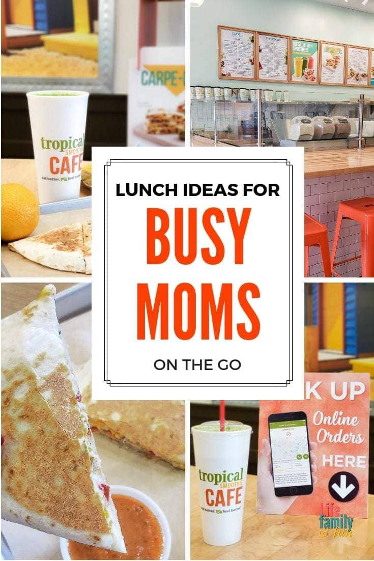 Quick and Easy Lunch Ideas for Busy Moms on the Go