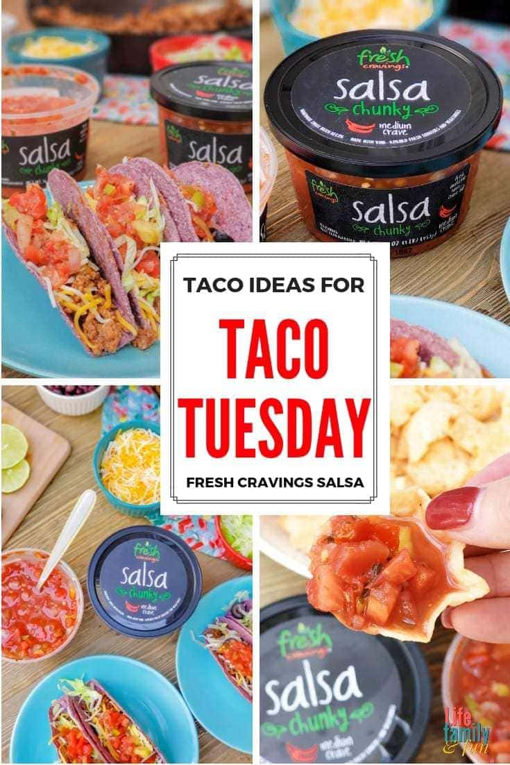 Making Taco Tuesday a tradition in your house is crazy simple and a great idea. Here are some Taco Tuesday Ideas for your Fun DIY Taco Tuesday Night. AD #FreshCravings #TacoTuesday #TacoIdeas