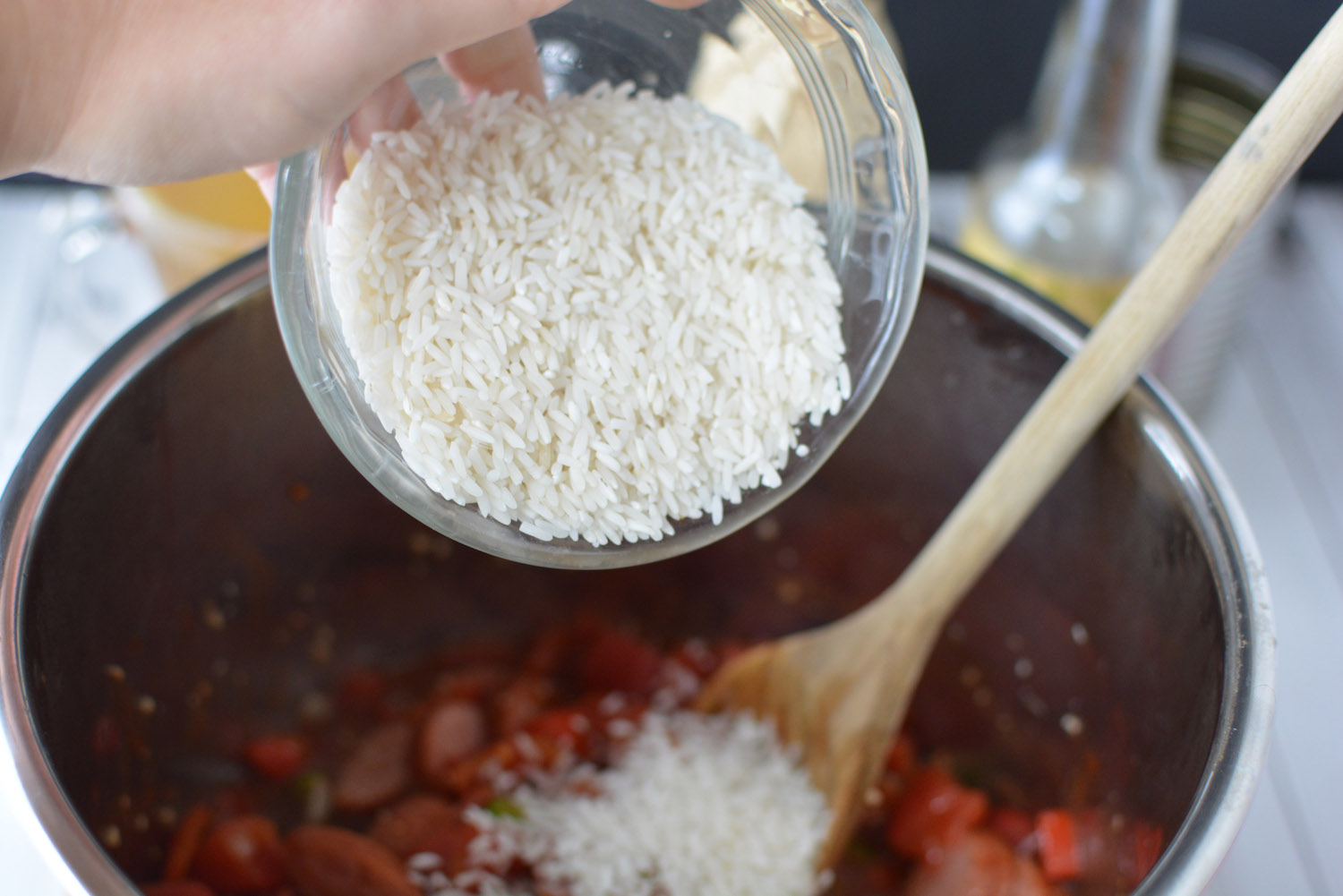 Delicious Instant Pot Jambalaya with Rice