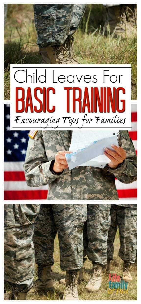 Preparing for when your child leaves for Basic Training can be extremely difficult. Here are a few encouraging and helpful tips for when your child leaves for basic training.
