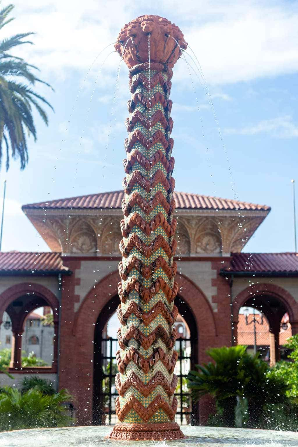 Flagler college Entrance