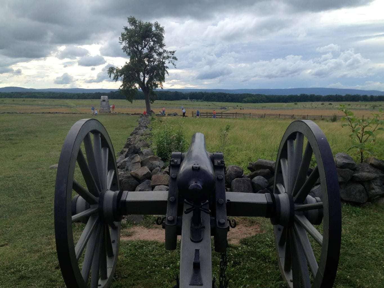 Gettysburg park, Devil's Den