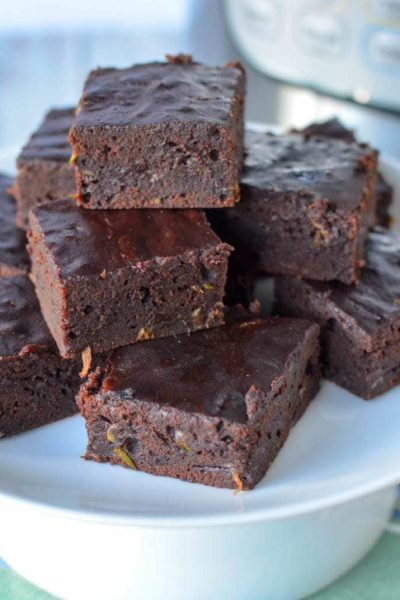 Instant Pot Chocolate Zucchini Brownies: Brownies Made Simple