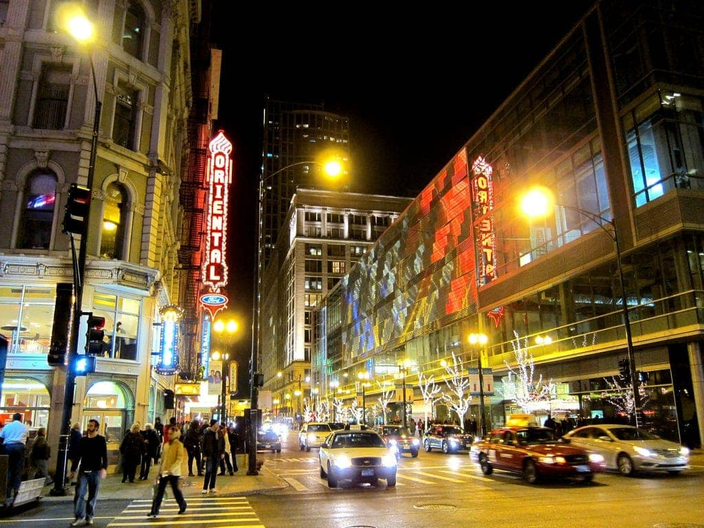 Oriental Theater in Chicago, Haunted Cities in the US
