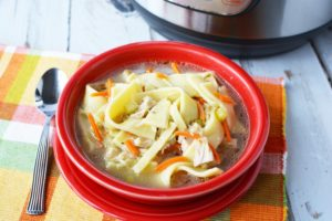 Instant Pot Chicken Noodle Soup – Homemade and Hearty Soup Good For The Soul