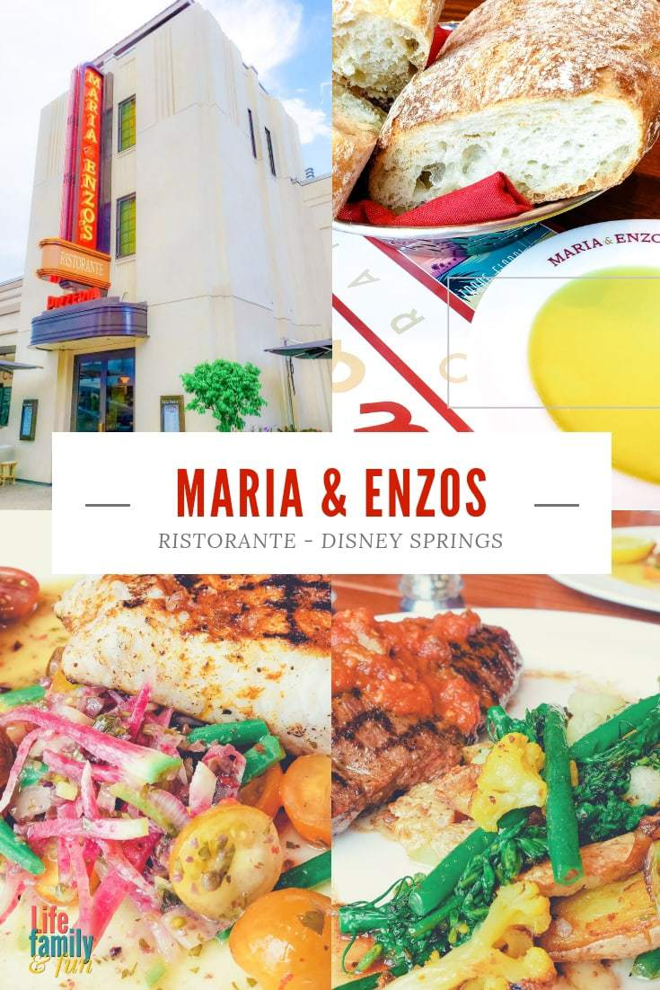If you are in the Disney Springs area and love Italian food, Maria and Enzos Ristorante needs to be included in your dining plans. From the moment that you enter their doors, it's as though you've taken a trip directly to Italy. AD #MariaandEnzos #DisneySprings