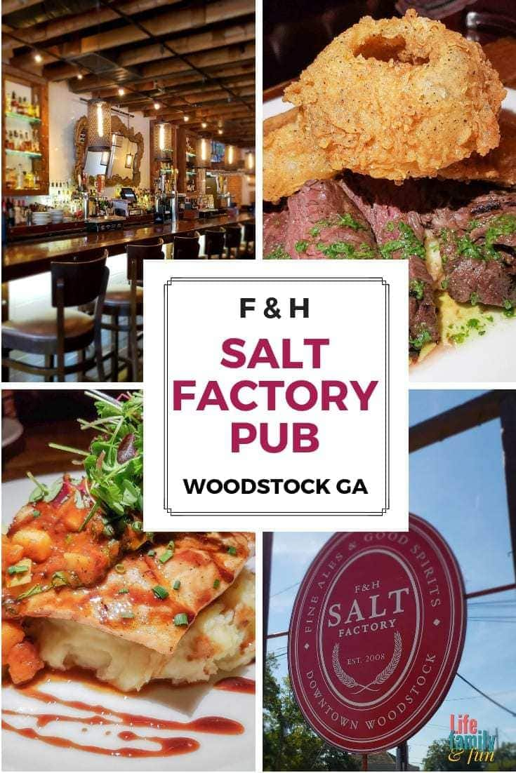 Salt Factory Pub is one of those restaurants that makes quite an impact on you and your taste buds. Every food item on the menu is carefully planned out and made to perfection. #SaltFactoryPub #WoodstockGA