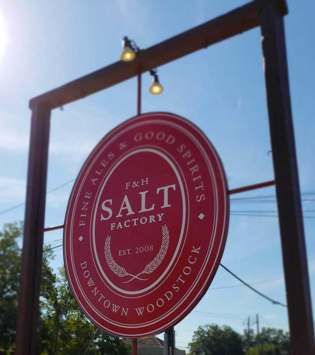 Salt Factory, SALT in Woodstock, Salt Factory Pub