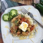 There are a ton of greatKeto-friendly recipes out there that you and your taste buds will love, and they are healthier for you than other alternatives! ThisKetoChickenEnchiladaBowlis one of those recipes. It packs a TON of amazing flavor, without the heavy carbs. #KetoEnchiladas #ChickenEnchiladaBowl #KetoRecipe #CauliflowerRice