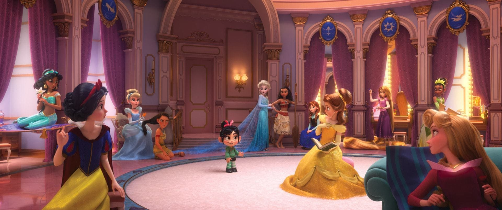 Ralph Breaks The Internet and The Princess Scene