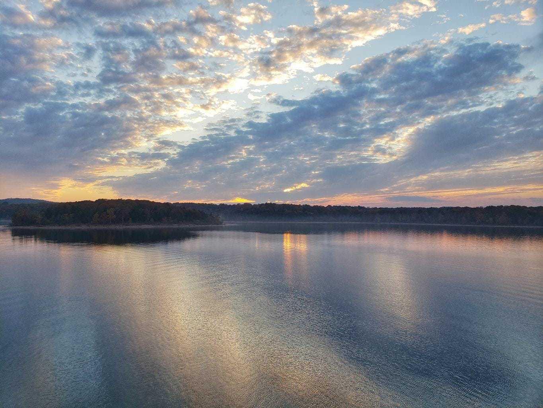 sunset from showboat branson belle