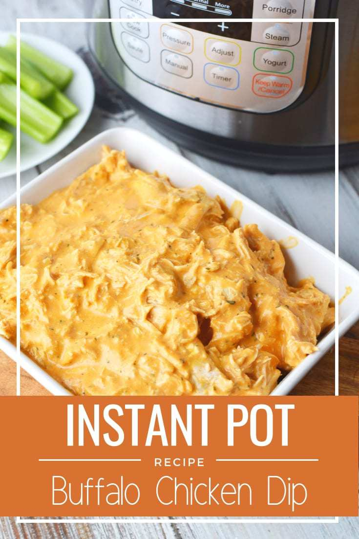 Buffalo Chicken Dip in the Instant Pot